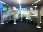 Fun new office cubicles