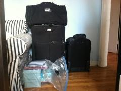 Brian's luggage.
