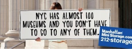 Not true, Manhattan Mini Storage ad, not true.