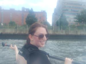 Carlos'-done hair outlasts the Hudson!