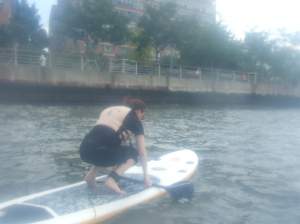 Finding my footing -- in paddleboarding & in life