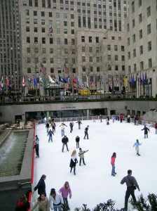 Skating rink in 2007. It's right by my office now.