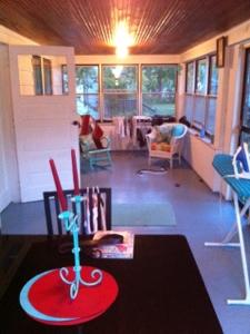 Nicole's front porch