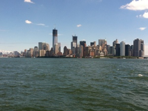 You can't miss the Freedom Tower