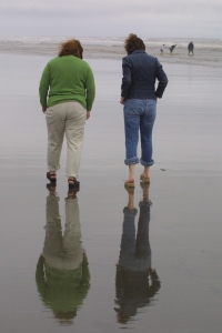 At Ocean Shores, Wash.