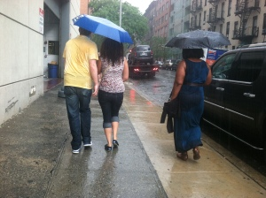 Don't let the rain stop you from living life.