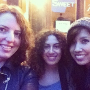 Me, Navani and Quyn in NYC
