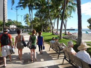 """""""The Strip"""" in Waikiki"""