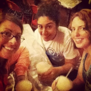 That time Tara, Navani and I had drinks in Brooklyn.