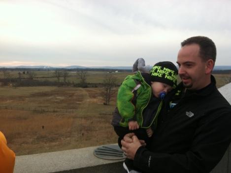 Nolan at Gettysburg.