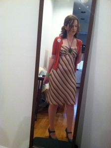 I'd definitely keep wearing this dress.