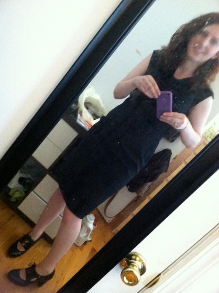 Dress I love (Photo not taken today. I foolishly didn't take photos today)