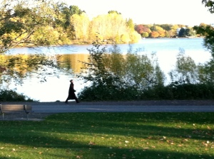 Oh, hey, Green Lake, I've been thinking about you.